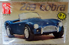 NEW VINTAGE AMT /ERTL #6587 289 CARROLL SHELBY COBRA 2 IN 1 1/25 MODEL KIT