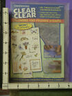 clear dimensions friends flowers butterfly set of 20 rubber stamps 32b