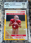 COLIN KAEPERNICK 2011 Score GOLD ZONE SP Rookie Card RC 299 BGS BCCG 10 49ers
