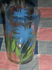 Vintage Swanky Swig Blue Cornflower Green Stems  3 1/2 Inches High