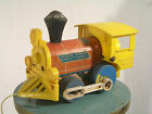 Vtg 1964 Fisher Price 643 Toot Toot Childs Pull Toy Steam Train E Aurora NY USA