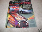 BALLY  Corvette pinball flyer