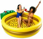 THE PARTY PINEAPPLE INFLATABLE POOL With Drink Holders Kids Adults Big Mouth
