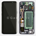 LCD Display Touch Screen Digitizer Frame Replacement For Samsung Galaxy S8 Plus