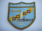 Vietnam War USCGC USS Taney (WHEC-37) QUEEN OF THE PACIFIC Patch