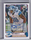 2012 TOPPS MAGIC #159 NICK FAIRLEY AUTO. ROOKIE RC DETROIT LIONS