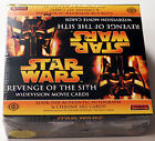STAR WARS REVENGE OF THE SITH WIDEVISION HOBBY BOX