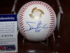 SANTIAGO CASILLA (San Francisco Giants) signed 2013 WBC baseball w PSA COA