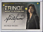 2013 Cryptozoic Fringe Seasons 3 and 4 Autographs Guide 27