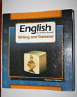 ENGLISH FOR CHRISTIAN SCHOOLS WRITING AND GRAMMAR 8 TEACHERS EDITION Bob Jones