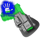 Fobus Paddle Left Hand Polymer Holster for Glock 17 19 22 23 31 32 34 35 GL 2 LH