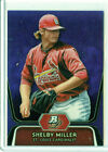 2012 BOWMAN PLATINUM #BPP27 SHELBY MILLER ROOKIE CARD RC PURPLE REFRACTOR