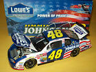 Jimmie Johnson 2002 Lowes Power Of Pride 48 Lowes Rookie 1 24 NASCAR Diecast