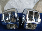 CHROME SWITCH HOUSINGS FOR HARLEY ROAD KING 1996 2007