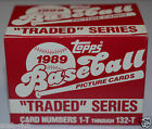 1989 TOPPS Traded Series Baseball Cards Set In Box: Griffey, Johnson