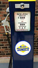 NEW BLUE SUNOCO GAS PUMP ANTIQUE REPRODUCTION REPLICA - FREE SHIPPING*