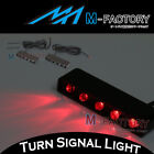 M-Factory LED Rear Brake Light Red Footpegs Fairing Lighting APRILIA