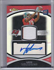 2010 TOPPS FINEST #82 MIKE WILLIAMS AUTOGRAPH RC JERSEY REFRACTOR BUCS 17 75