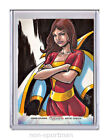 Exlcusive 2012 Cryptozoic DC Comics The New 52 Sketch Card Preview 13