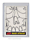 MARS ATTACKS TOPPS HERITAGE SKETCH BY ?