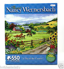 NANCY WERNERSBACK ~ A DAY IN THE COUNTRY ~ 550PC PUZZLE 18