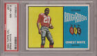 1964 Topps CFL #57 ERNEST WHITE Rough Riders PSA 8 NM-MT