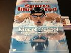 Michael Phelps Olympics Swimming Signed Auto SI 16x20 PHOTO JSA Certified COA