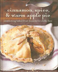 Cinnamon Spice  Warm Apple Pie Comforting Baked Fruit Desserts NEW HB
