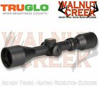 TruGlo TruBrite Xtreme Dual Color Reticle Muzzleloader Scope Black TG8531BLM