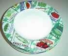 PREOWNED VERY NICE FITZ FLOYD OMNIBUS COUNTRY CUPBOARD 4 SALAD PLATES 7 3/4