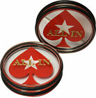 3 Inches Acrylic All In Button Casino Quality Dealer Button Large