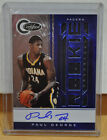11-12 Paul George RC Certified Auto Jersey 26 49 Indiana Pacers Fresno State