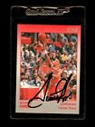 1991 Star Company Chicago Bulls Scottie Pippen Autograph Card Premium