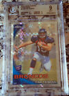 TIM TEBOW 2010 Topps Chrome Xfractor Rookie Card RC BGS 9 MINT Broncos HOT