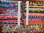 Disney World Pin Trading Lot Lanyard Starter Set Princess Mickey Cars w 10 Pins