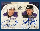 Drew Doughty Jack Johnson 2009 10 SP Authentic 'Sign Of The Times 2' Dual Auto