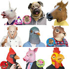 Animal Head Mask Rubber Latex Halloween Costume by Accoutrements Archie McPhee