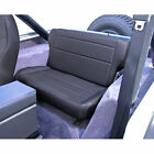 For Jeep Wrangler Cj Yj 76 95 Tumble Rear Seat Black Denim X 1346215