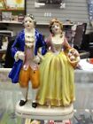 KA) Rare Vintage Occupied Japan Colonial English Couple Porcelain Figurine