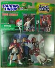 STEVE YOUNG & JERRY RICE Football ACTION FIGURES Classic Doubles SLU NOC 1998