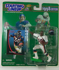 TERRELL DAVIS NFL Denver Broncos Football Figure STARTING LINEUP 1998 NOC White