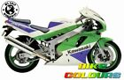 KAWASAKI 3 COLOUR TOUCH UP KIT ZXR400 ZXR750 1991 - 1994 GREEN WHITE