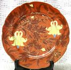 Antique Nervi /Pirkenhammer Aesthetic Plate Very Different Austria Red Orange
