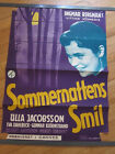 SMILES OF A SUMMER NIGHT Original 1956 Danish movie poster Ingmar Bergman