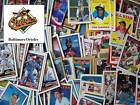 BALTIMORE ORIOLES - 2,000 Card Megalot (Assorted Players, Years, Companies)