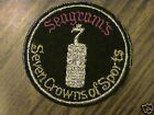 Seagram's,Seven Crowns of Spirt's,vintage,collect patch