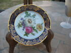 #97 beautiful  LIMOGE FRANCE dish plate deco w/flowers 5