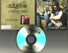 Mars Electric Singer LYNAM Lindsay says 2008 TST PRESS PROMO CD Single MINT