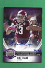 2014 Upper Deck National Convention RC Auto MIKE EVANS 25 Texas A