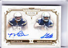 2013 MUSEUM COLLECTION MANTI TE'O & KEENAN ALLEN DUAL-AUTOGRAPH CHARGERS 17 25